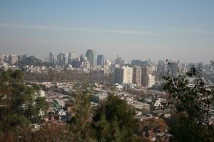 A view santiago